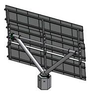 Schema eines Solar-Panels